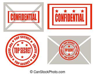Top secret -stamps