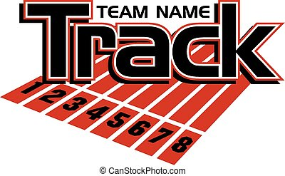 track team design with lanes