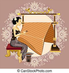 Traditional Indonesian Batik
