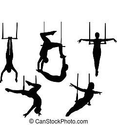 Trapeze silhouette