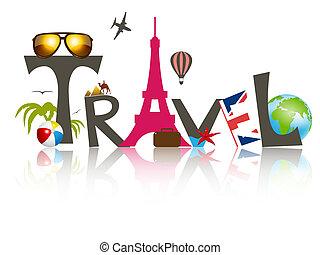 Vector travel business design