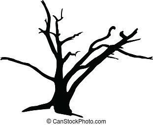 tree3 vector silhouettes