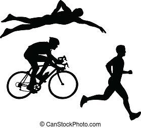 Triathlon - vector