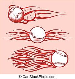 Tribal Baseballs