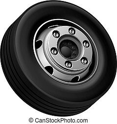 Truck fore wheel