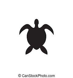 Turtle logo icon design vector template