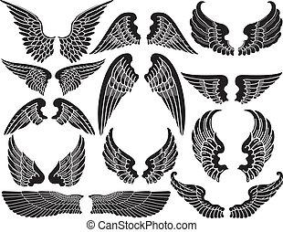 Twelve Sets of Angel Wings
