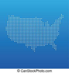 United states dot map