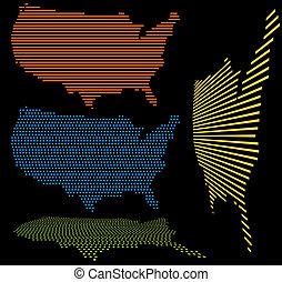 United States Map Set