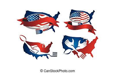 United States Restaurant Set