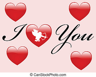 Valentines day - vector
