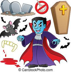 Vampire theme collection