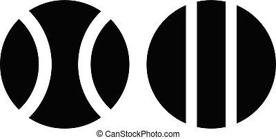 variation vector glyph flat icon