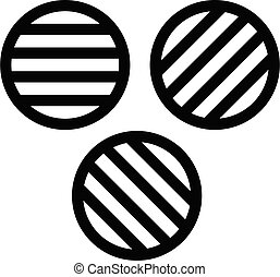 variation vector thin line icon