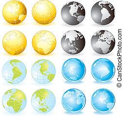 Variety Globes