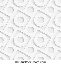 Vector Abstract Seamless Decorative Background