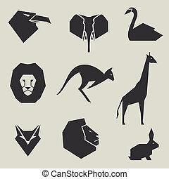Vector Animal Icons