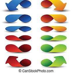 vector arrow design elements