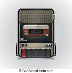 Vector cassette recorder XXL icon