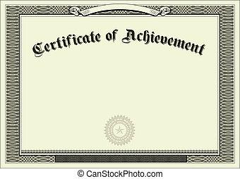 Vector Gift Certificate Background