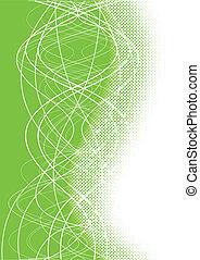Vector green background