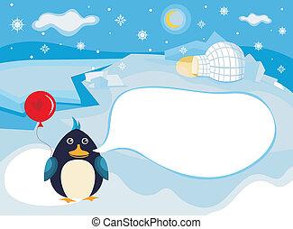 north pole background