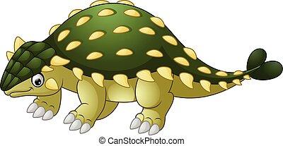Ankylosaurus Dinosaur cartoon