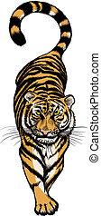 illustration of Crouching Tiger