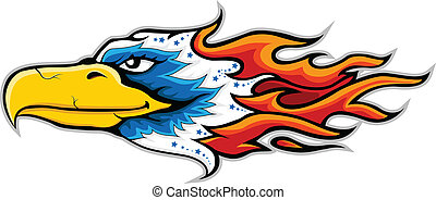 eagle head tattoo