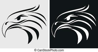 Eagle mascot or symbol