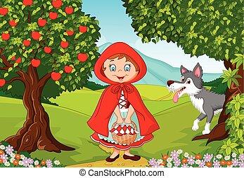 Little Red Riding Hood meeting