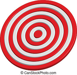 Vector illustration of target