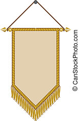 vector image of a pennant