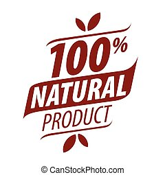 vector logo printing for natural products