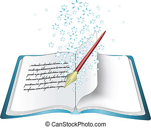 Vector magic book