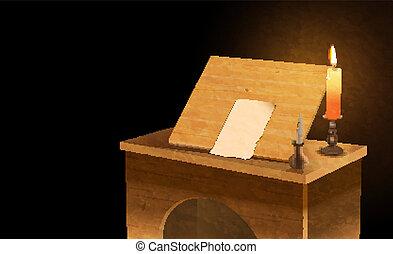 notary desk