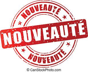 Vector novelty stamp