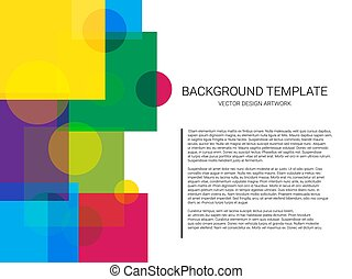 Vector of abstract geometric pattern and background. Minimal design.