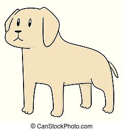 vector of dog
