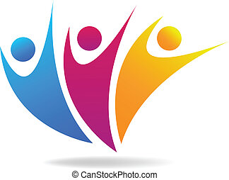 Vector of people social media icon