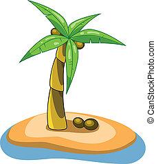 vector palm clip-art