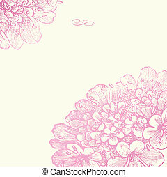 Vector ornate background. Easy to edit. Perfect for invitations or announcements.
