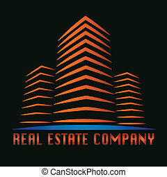 vector real estate building logo