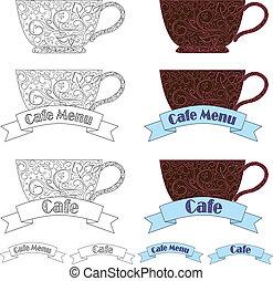 design elements fo cafe