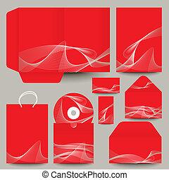 stationery design - vector illustration
