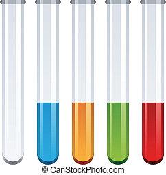 vector test tubes