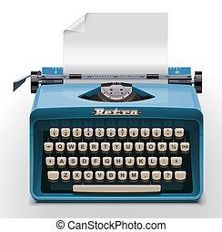 Vector typewriter XXL icon