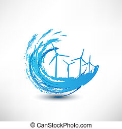 vector wind turbines concept