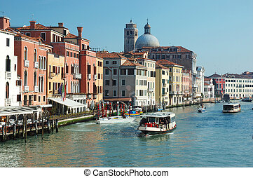 Venice grand canal view, Italy