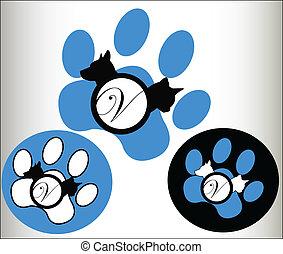 Veterinary pets Logo